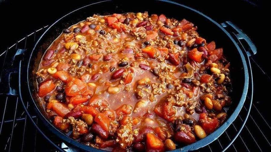 Hickory Smoked Chili Recipe