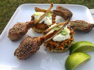 Recipe Lamb Cutlets by Dean Schumann