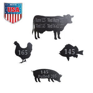 Animal Temperature Magnets set