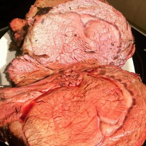 Butter rubbed rib roast – Recipe by Brad Heatstr Heatley