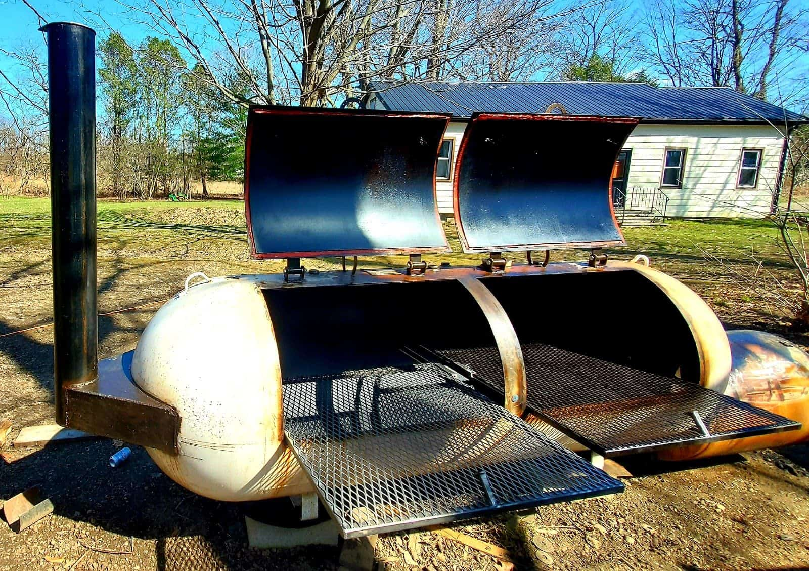 How To Build Your Own Smoker by Beau Reibel